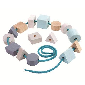 Plan Toys, Pastelowa nawlekanka -Plan Toys