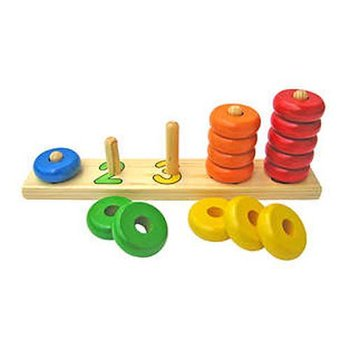 Plan Toys, sorter Sortuję i liczę-Goki