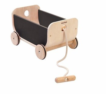 Plan Toys, zabawka do ciągnięcia Wózek-Plan Toys