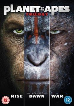 Planet of the Apes Trilogy (brak polskiej wersji językowej)-Reeves Matt, Wyatt Rupert