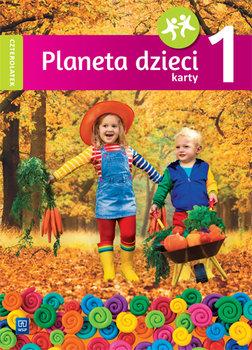 Planeta dzieci. Karty pracy. Czterolatek. Część 1-Szeląg Marlena, Lipińska Gabriela