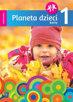 Planeta dzieci. Karty pracy. Trzylatek. Część 1-Bagińska Elżbieta