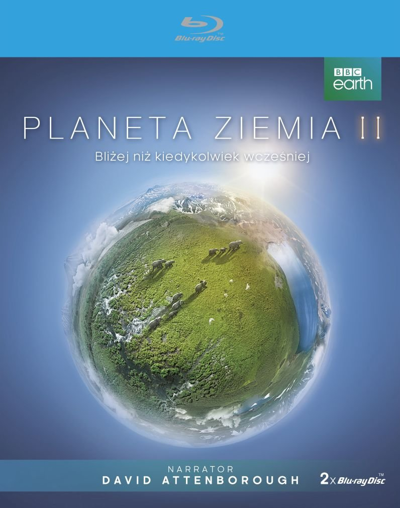 Planeta Ziemia 2 Blu Ray Disc Attenborough David Filmy Sklep
