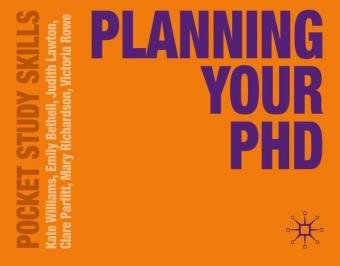 Planning Your PhD-Williams Kate