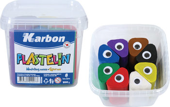 Plastelina, 8 kolorów, 1 kg-MST Toys
