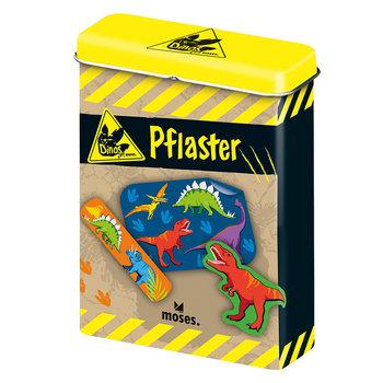 Plastry z opatrunkiem dla dzieci, Dinozaury, 20 elementów