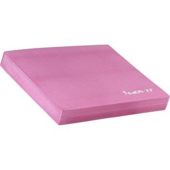 Platforma do ćwiczeń równoważnych, Balance Pad, różowa, 48x38x5,8 cm