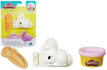 Play Doh, zestaw kreatywny ciastolina z króliczkiem-Play-Doh