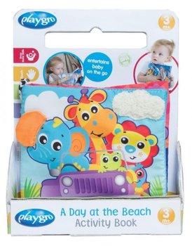 Playgro, książeczka aktywnościowa - Dzień na plaży-Playgro