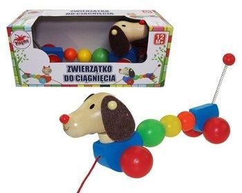 Playme, zabawka do ciągnięcia Sprężynowy Pies-Playme