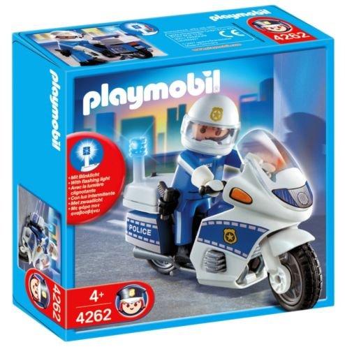 playmobil policja klocki policjant na motocyklu 4262 playmobil sklep empik com. Black Bedroom Furniture Sets. Home Design Ideas
