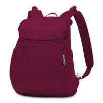Plecak damski, Pacsafe, Citysafe CS300 żurawinowy