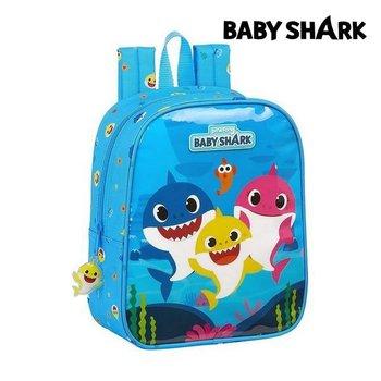 Plecak dziecięcy Baby Shark Jasnoniebieski-Baby Shark