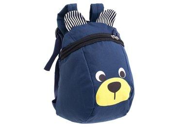 Plecak dziecięcy, miś grananatowy-KIK