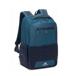 """Plecak na laptop 15,6"""" RIVACASE Suzuka 7767 Niebiesko Granatowy - niebieski / granatowy"""
