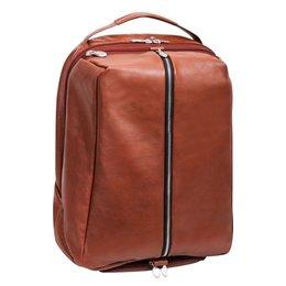"Plecak na laptop 17"" McKLEIN South Shore Brązowy - brązowy"
