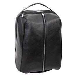 "Plecak na laptop 17"" McKLEIN South Shore Czarny - czarny"