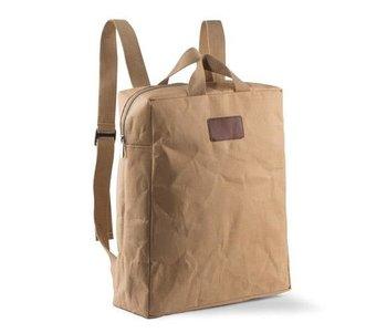 Plecak papierowy KEMER CHARTI Brązowy-KEMER