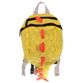 Plecak przedszkolaka smok, wodoodporny, żółty-KIK