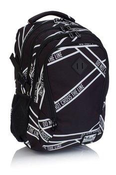 74ca2dec745dd Plecak szkolny, napisy, czarny - Hash | Sklep EMPIK.COM