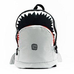 Plecak szkolny Pick & Pack Shark Shape M - grey