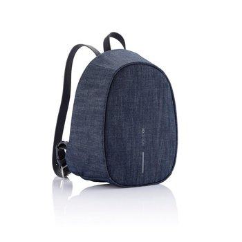 Plecak z ochroną antykradzieżową Bobby Elle Granatowy - czarny-XD COLLECTION