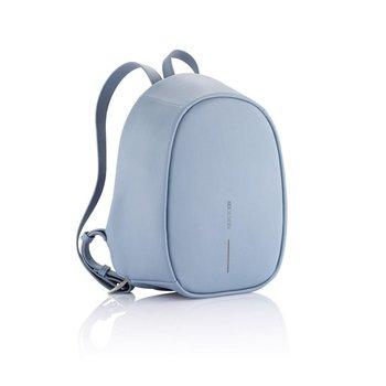 Plecak z ochroną antykradzieżową Bobby Elle Niebieski - niebieski-XD COLLECTION