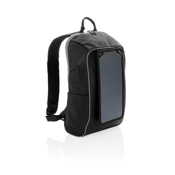 Plecak z panelem słonecznym Swiss Peak Czarny-SWISS PEAK