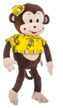Pluszowa Małpka Matylda w Koszulce 35 cm Axiom-Axiom