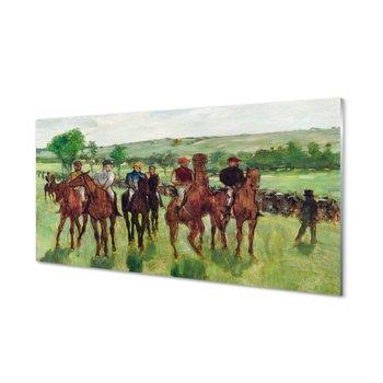 Płyta szklana do kuchni Sztuka jazda konna 120x60-Tulup
