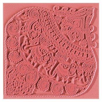 Płytka z teksturą, Słoń indyjski-Cernit