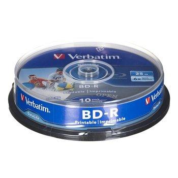 Płyty BD-R VERBATIM Datalife Printable, 25 GB, 6x, 10 szt.-Verbatim