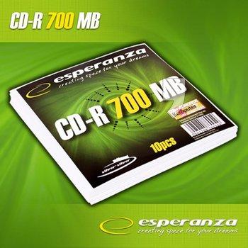 Płyty CD-R ESPERANZA 2007, 700 MB, 52x, 10 szt.-Esperanza