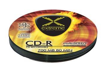 Płyty CD-R EXTREME 2033, 700 MB, 52x, 10 szt.-Esperanza
