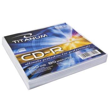 Płyty CD-R TITANUM 2027, 700 MB, 52 x, 10 szt.-Titanum