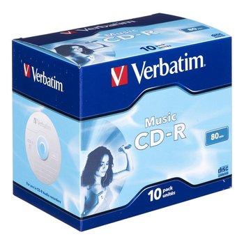 Płyty CD-R VERBATIM Audio, 700 MB, 16x, 10 szt.-Verbatim