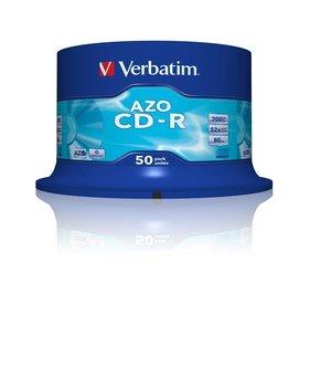 Płyty CD-R VERBATIM AZO 43343, 700 MB, 52x, 50 szt.-Verbatim