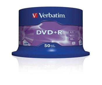Płyty DVD+R VERBATIM AZO Matt Silver, 4.7 GB, 16x, 50 szt.-Verbatim