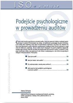 Podejście psychologiczne w prowadzeniu auditów                      (ebook)