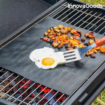 Podkładka do piekarnika i grilla InnovaGoods Kitchen Foodies 2 szt.-InnovaGoods