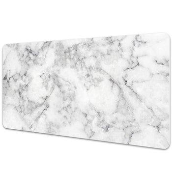 Podkładka mata ochrona biurka Biały marmur 90x45cm-Dywanomat