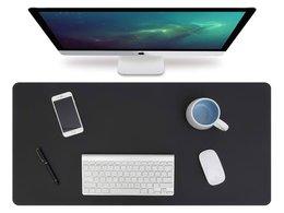 Podkładka na biurko stół ochronna mata 90x45cm Black