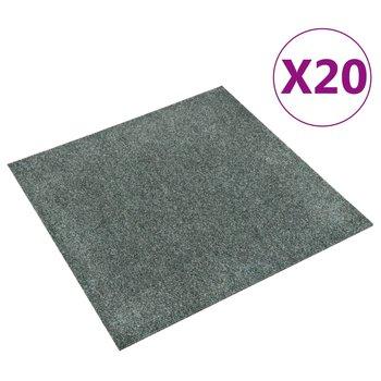 Podłogowe płytki dywanowe, 20 szt., 5 m², zielone-PERVOI