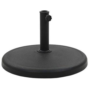 Podstawa pod parasol PERVOI, okrągła, czarna, 54,5x36 cm-PERVOI