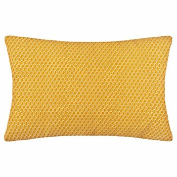 Poduszka dekoracyjna ATMOSPHERA, żółta, 50x30 cm-Atmosphera