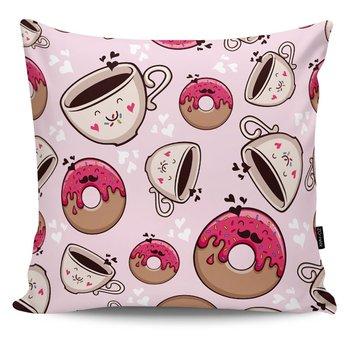 Poduszka dekoracyjna Good Morning pink-MIA home
