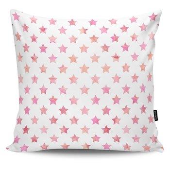 Poduszka dekoracyjna Stars pink-MIA home