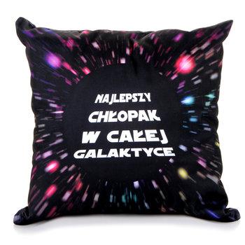 Poduszka, Dzień Chłopaka, galaktyka, 38x38 cm-sampla
