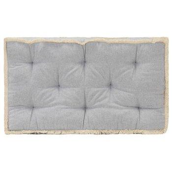 Poduszka na sofę z palet, szara, 73x40x7 cm-vidaXL