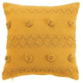 Poduszka ozdobna 40x40 GOLPES : Kolor - Żółty-MIA home
